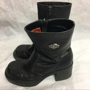 Harley Davidson riding boots sz 7 style 81020